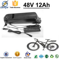 4P13S 48V 12Ah Dolphin Battery with Charger BMS 3.7V 3.0Ah Samsung 18650 Plastic Battery Case