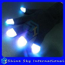 Fashion New Products Led Flashing Gloves Gift For Selling