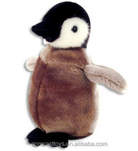 Penguin plush toys Music grey Penguin stuffed toys