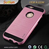 Rugged Hybrid PC+TPU Shockproof Dirt Dust Proof Hard Matte Case For Apple iPhone 4 4S 5 5S 6 6S 6 Plus 6S Plus Cover