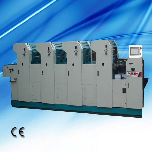 4 Colour Mini Offset Printing Machine With Best Price
