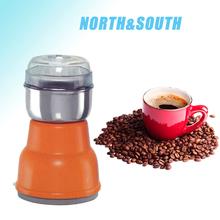 cozinha modelo de plástico mão operar elétrico mini coffee bean stand moinho de milho