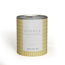 Hot stamping foil muesli packaging composite round paper tube can