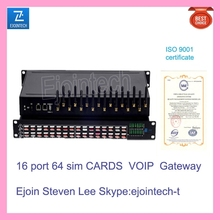 16 port VOIP gateway octa core dual sim