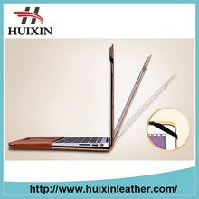 customized genuine leather cover for macbook air 13''
