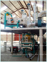 2015 hot sales 50T/D Full set corn miling machine corn flour price
