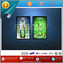 Interactive Activated 3g digital advertising lcd player