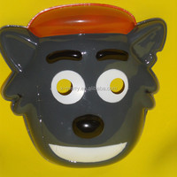 custom plastic mask cartoon mask cute wolf mask