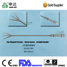 Highly accurate instrument Advanced Laparoscopic Straight handle Fan Retractor