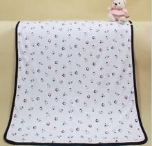 custom Organic cotton/bamboo baby blanket