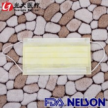 Disposable and high quality pp nonwoven face mask with infection prevention