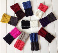 Fashion Female Accessories Two Colors Short Boots Cuff Sock Leg Warmmer Knitting Sock