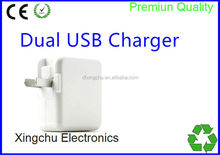 Smartphone Android Wall Charger 5V 4.2A (CE approved) Dual USB Charger for Samsung Galaxy S4