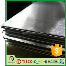 304 stainless steel metal sheet no 4 satin finish