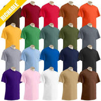 Hot Sales Teenager 200gsm 100%Cotton Blank Tshirt In Stock wholesale