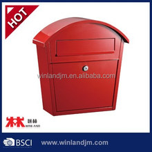 Galvanized steel with powder coating mailbox mail box letterbox