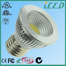 UL Listed Standard E26 Base Super Bright 5 Watt Led E27 120v Pure White 5500-5800k