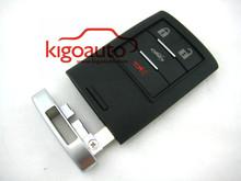 Smart key case 4 button M3N5WY7777A for Corvette 25926479