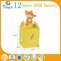 custom paper cupcake animal shaped box