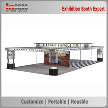 China eco-friendly outdoor exhibition trade show booth design company