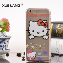 Tpu case for iphone 6 with hello kitty cartoon