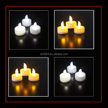 cheapest Multi Color Changing LED candle for party decoration,led waterproof candle,led tealight for party decoration