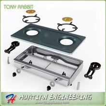 2015 new design gas burner parts manufacturer
