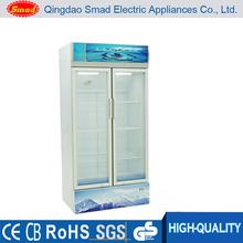 Display cooler, upright refrigerator, vertical refrigerated showcase