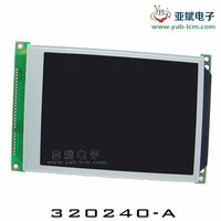 Dot matrix 320240 graphical lcd module used to many electronic device dispaly,No.YB320240A