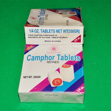High Quality 1/4 OZ Natural Pure Refined Camphor Tablet
