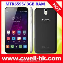 2015 original ZOPO ZP999 2.0 GHz CPU 5.5 inch dual mocro sim card android smartphone