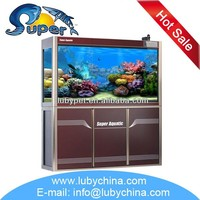 2015 super aquatic series marine fish aquarium for arowana fish, with best sump filter and filter material
