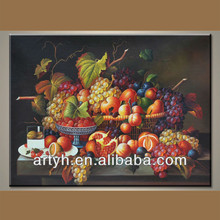 Wholesale decorative still life fruit oil painting