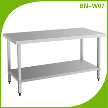 CosBao wholesale stainless steel hotel kitchen work table BN-W07