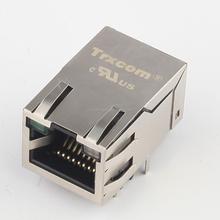 6605814-5 Free sample 1.3 inch poe gigabit cat5e rj45 connectors