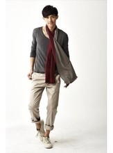 Factory price high quality brushed fabric silk men's woven scarf