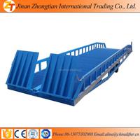 Hot sale !! hydraulic 10t steel atv loading ramp