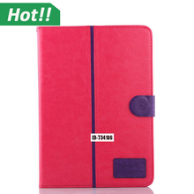 For apple ipad Air 2 Case Magnetic Flip PU Leather Wallet Case with Smart Stand Function