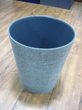 Grey Linen The lining And Bottom For PVC Waste Bin