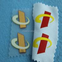 lowest price elegant cotton heat transfer label