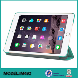 Customized Leather Tablet Shell Case Cover For iPad mini 4 Factory Price