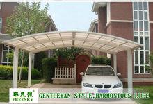 aluminum double carport
