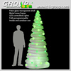 2015 Christmas illuminated Tree with LED RGB Light effect, unique creative design Christmas Tree illumination