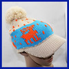 2015 Knitted Winter Funny Kids Animal Hats