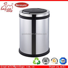 Standing Structure and tin Material trash can