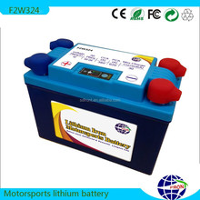 12v /12.8V24AH lifepo4/li-ion/lipo/lithium ion/lithium iron phosphate/lfp motorcycle rechargeble starter battery