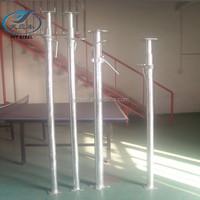 Adjustable shoring prop for building