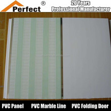 2015 new 20cm pvc ceilings,plastic ceilings with a groove for Nigeria market