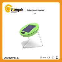 2015 New arrival Christmas Portable Solar Led Camping Lantern/Small Solar Led lamp with 8 Years Manufactured