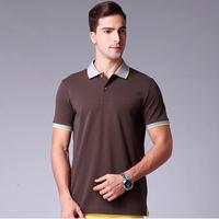 OEM Mens Polo T-shirt Promotional Plain Cotton T-shirt